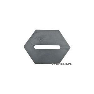 Skrobak metalowy Lely