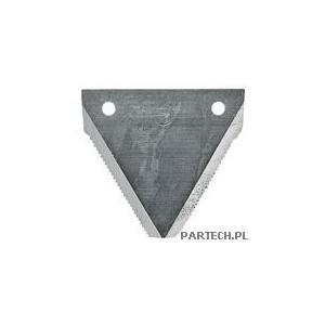 Nożyk listwy tnącej dolnie ryflowany Fortschritt E 512,514,516,524