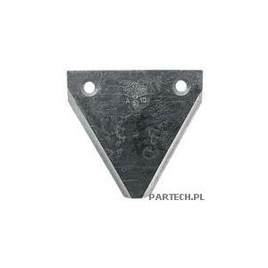 Nożyk listwy tnącej gładki, ostrzony z góry Fortschritt E 302,303,327
