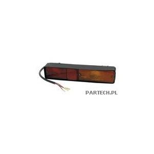 Cobo Lampa zespolona tylna lewa oraz prawa z mocowaniem sprężystym 2000 mm - dł. kabla 4x wtyczka okrągła z blokadą Massey Fergu
