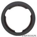 Tarcza hamulcowa w osi przedniej fi 246 mm grubość 4,5 mm, 42 zębów Fiat M 135,160