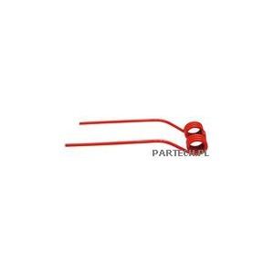 Palec przetrząsaczo-zgrabiarki karuzelowej prawy (czerwony) Claas