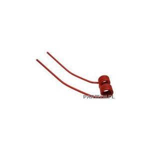 Palec przetrząsaczo-zgrabiarki karuzelowej (czerwony) Deutz-Fahr KH 2,4,6