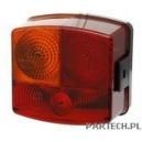 Hella Lampa zespolona tylna lewa, z oświetleniem tablicy rejestracyjnej Case IH 433,440,533,540,633,640,733,740,833,840,940