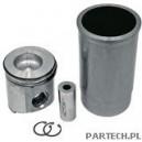 Zestaw naprawczy silnika 3 pierścienie, fi 106,5 mm fi sworznia: 41,28 x 84,4 mm fi komory spalania: 60 mm John Deere