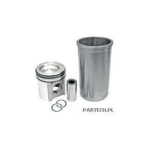 Zestaw naprawczy silnika 3 pierścienie, fi 116 mm sworzeń 47,6 mm fi komory spalania: 77 mm głębokość komoryJohn Deere