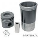 Zestaw naprawczy silnika 3 pierścienie, fi 130 mm sworzeń fi 46 x 99 mm komora spalania fi 60,5 mm głębokośMercedes Benz