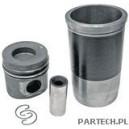 Zestaw naprawczy silnika 3 pierścienie, fi 128 mm sworzeń fi 46 x 105 mm komora spalania fi 66,6 mm głębokoMercedes Benz