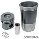 Zestaw naprawczy silnika 3 pierścienie, fi 128 mm sworzeń fi 46 x 105 mm komora spalania fi 72,4 mm głębokoMercedes Benz