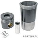 Zestaw naprawczy silnika 3 pierścienie, fi 128 mm sworzeń fi 46 x 105 mm komora spalania fi 66,2 mm głębokoMercedes Benz