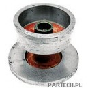 Bęben hamulcowy fi wew. 180 mm fi tarczy hamulcowej: 275 mm bez stożka grubość tarczy hamulcowej: 22,5 mm Deutz-Fahr