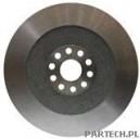 Tarcza hamulcowa 22 mm grubości, fi 374 mm 10 otworów, koło otworów-fi 108 mm piasta-fi 60,25 mm Mercedes Benz